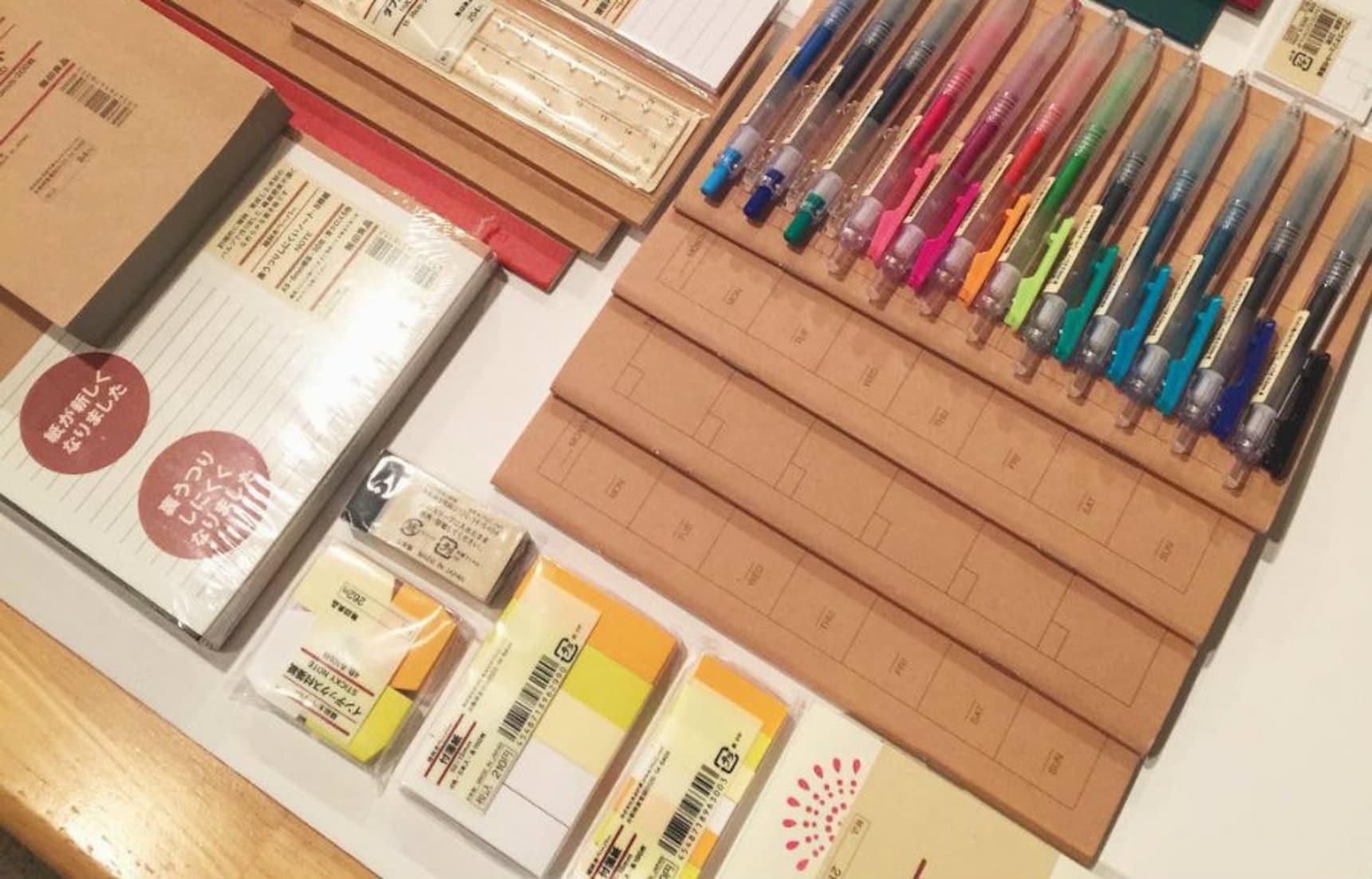 Life-Enhancing Stationery (& More) from Muji!