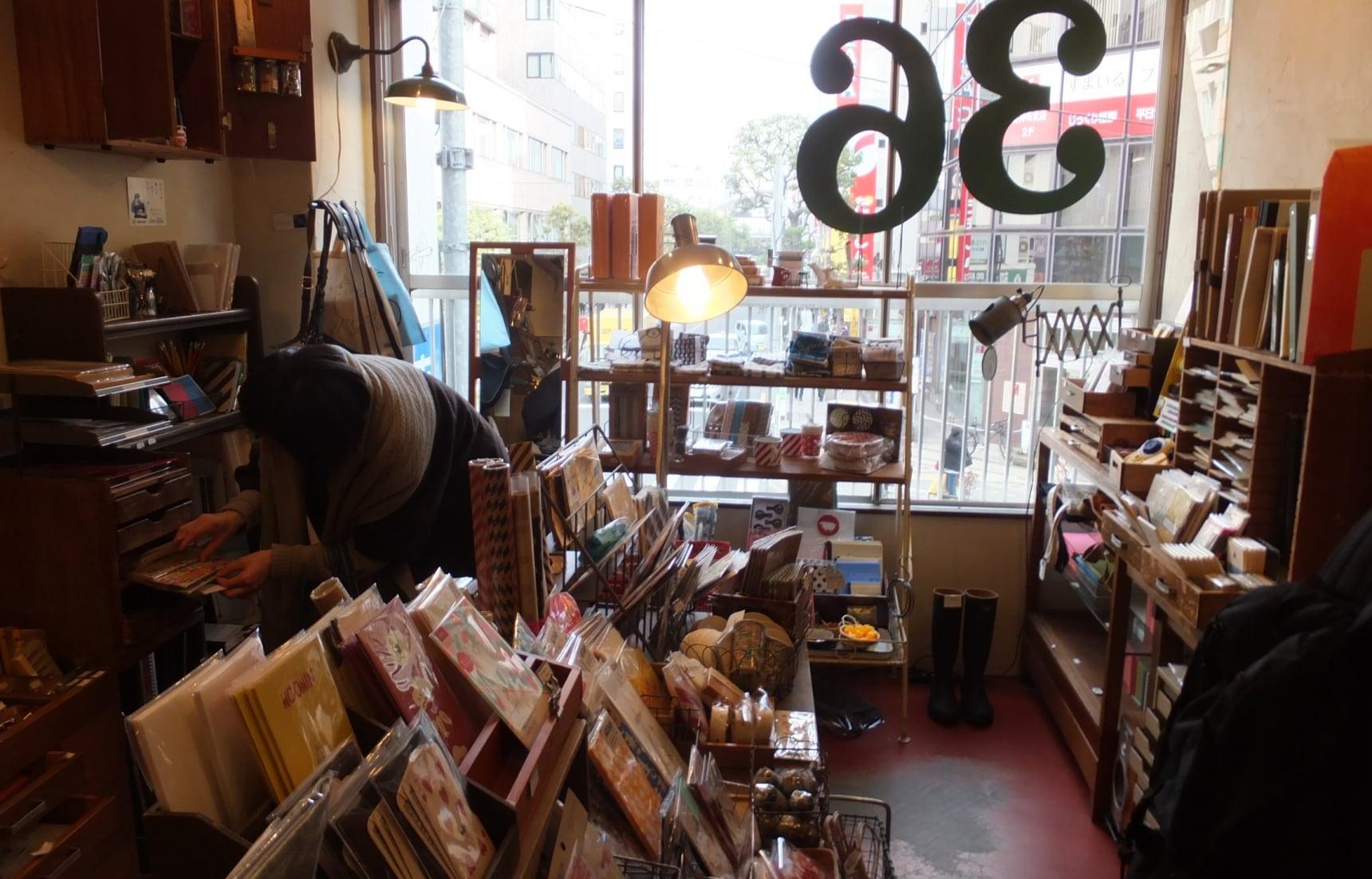 5 ร้านเครื่องเขียนน่ารักใน Tokyo