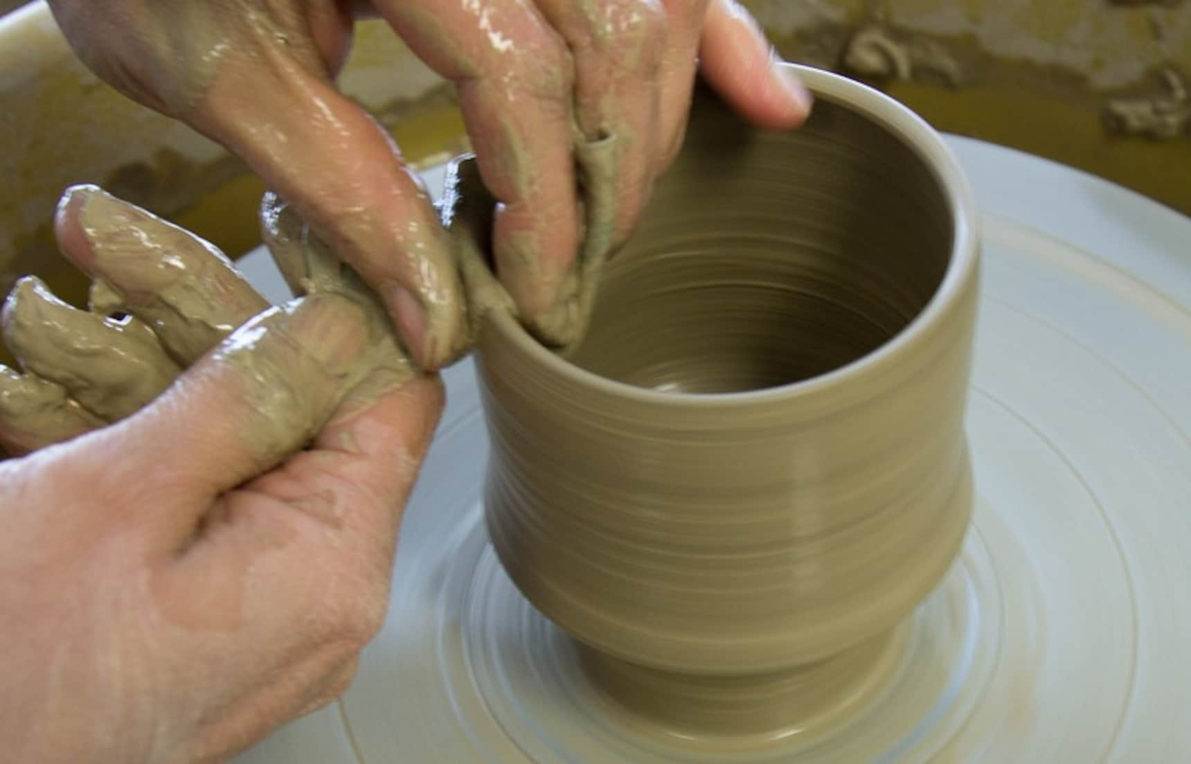 Rainy Days are the Perfect Excuse for Pottery