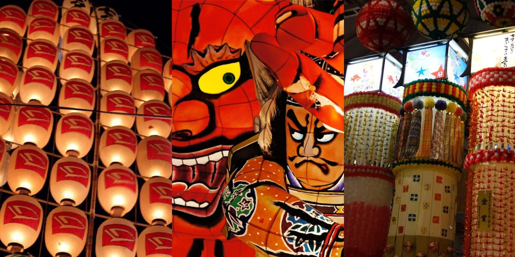 3 งานเทศกาลใหญ่ภูมิภาคโทโฮคุ
