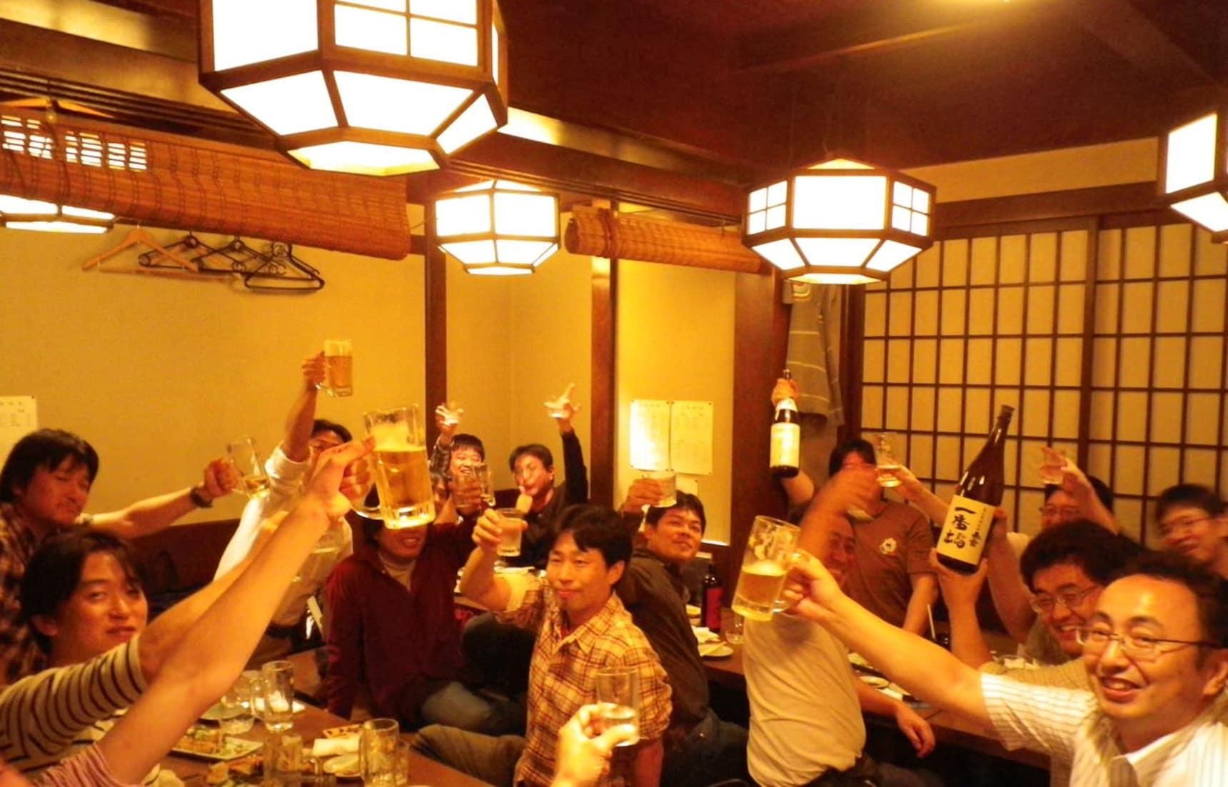 居酒屋裡的文化與禮儀4講