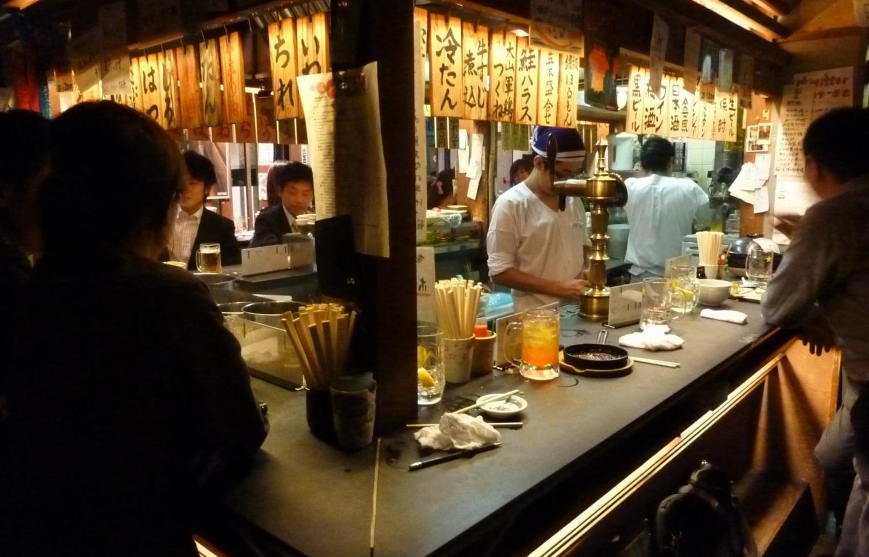 แนะนำ 5 ร้าน Tachinomi หรือร้านยืนดื่มใน Tokyo