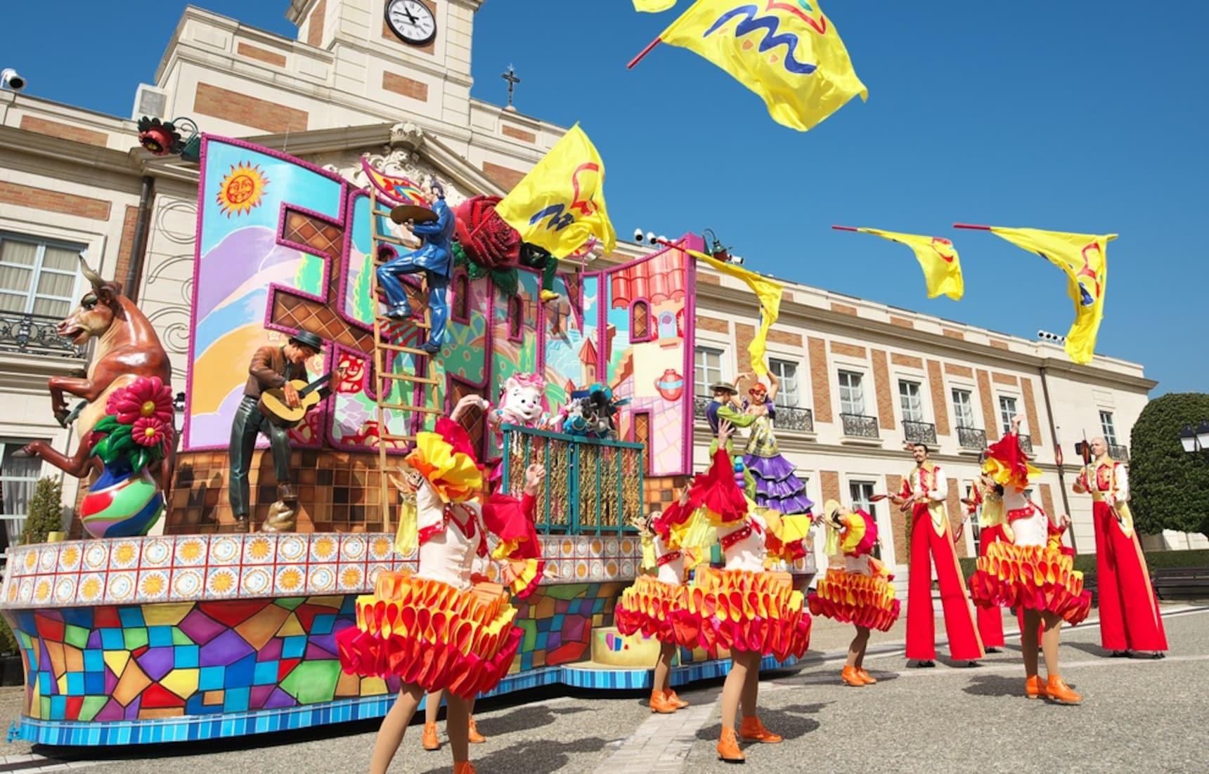 An Amusement Park with Spanish Flair