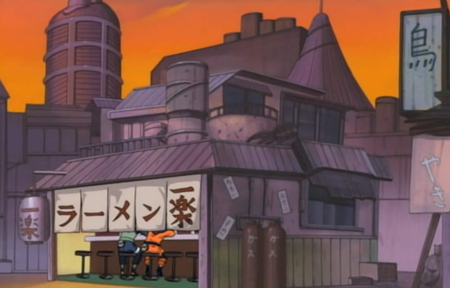 Eat Naruto's Top Ramen at the Real Ichiraku!