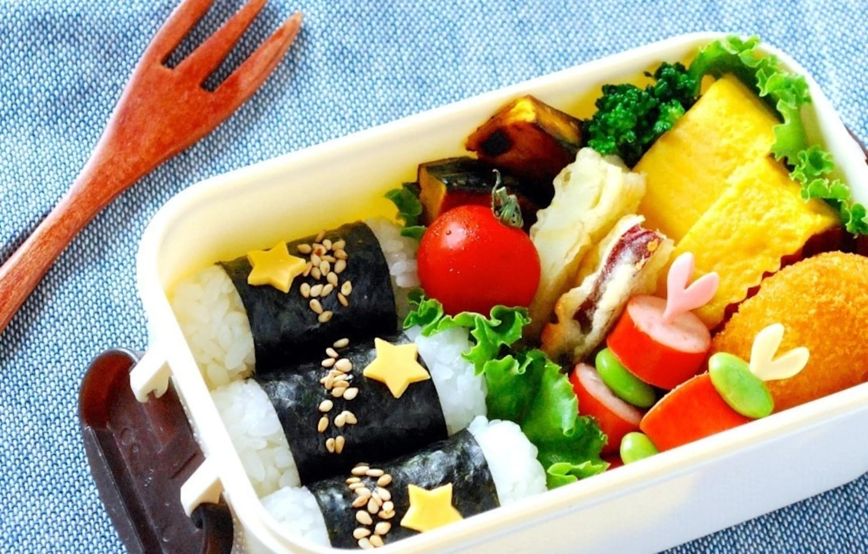 6 Items for True Bento Masters—Each Only ¥100!