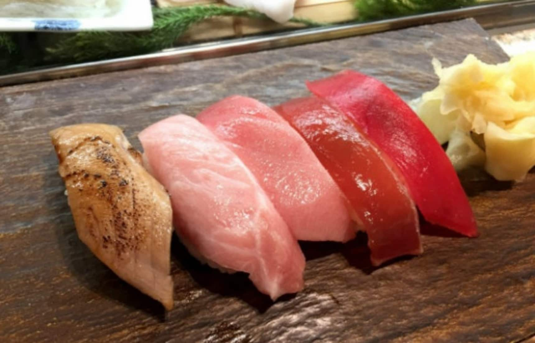 Gorge on Tsukiji Sushi for as Low as ¥80!