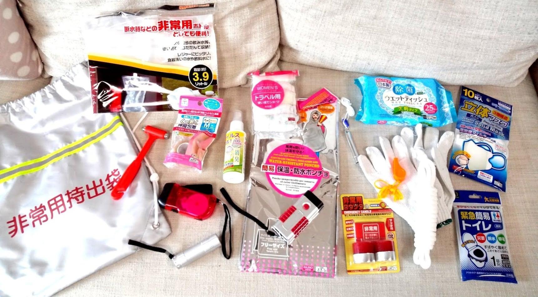 6 ของรับมือภัยพิบัติที่หาซื้อได้จากร้านร้อยเยน