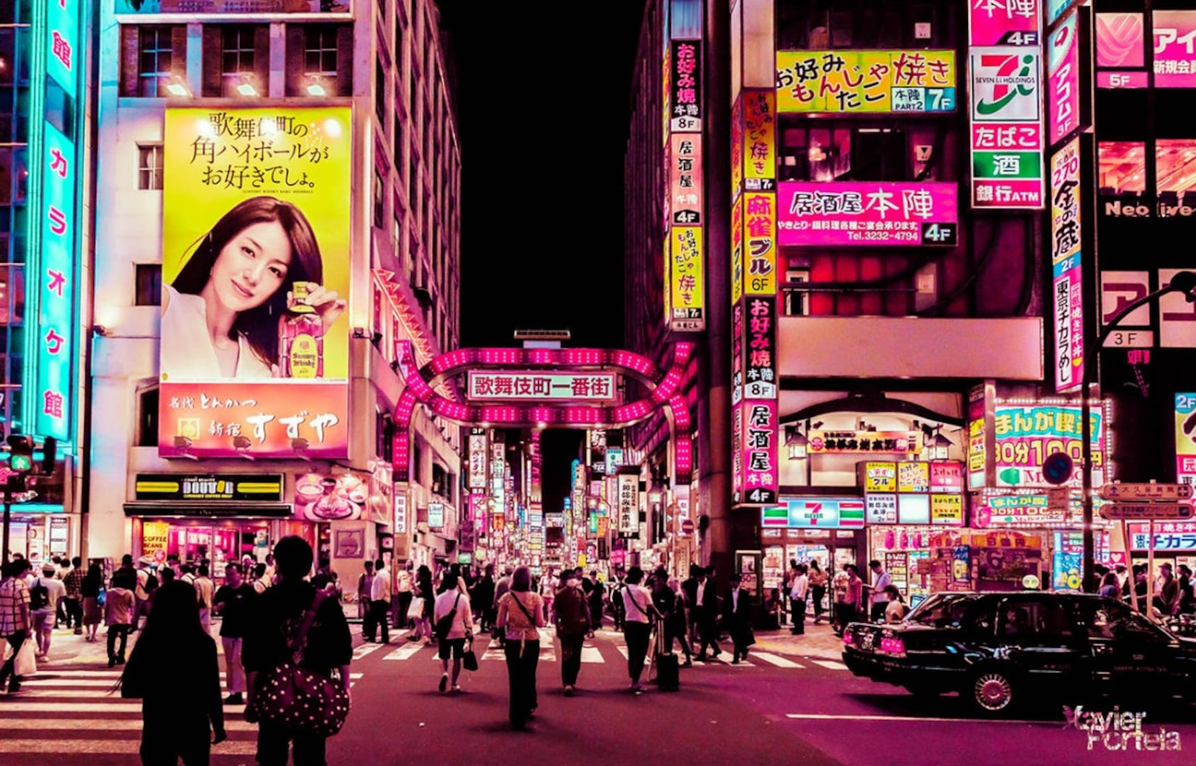 Stunning Photos Capture Tokyo Nightscape