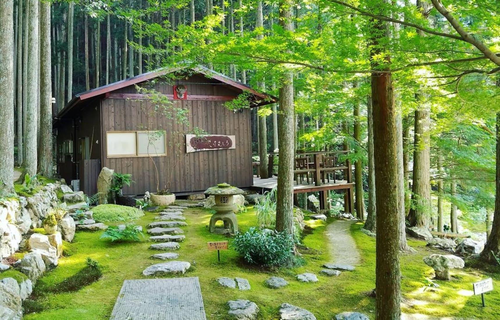 Moss Garden CaféHas Us Enchanted