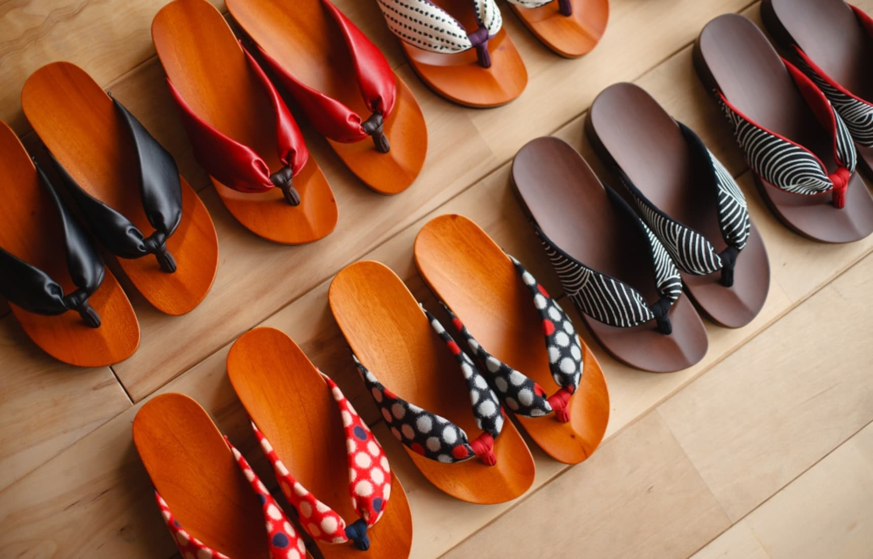 Traditional Japanese Footwear Reimagined