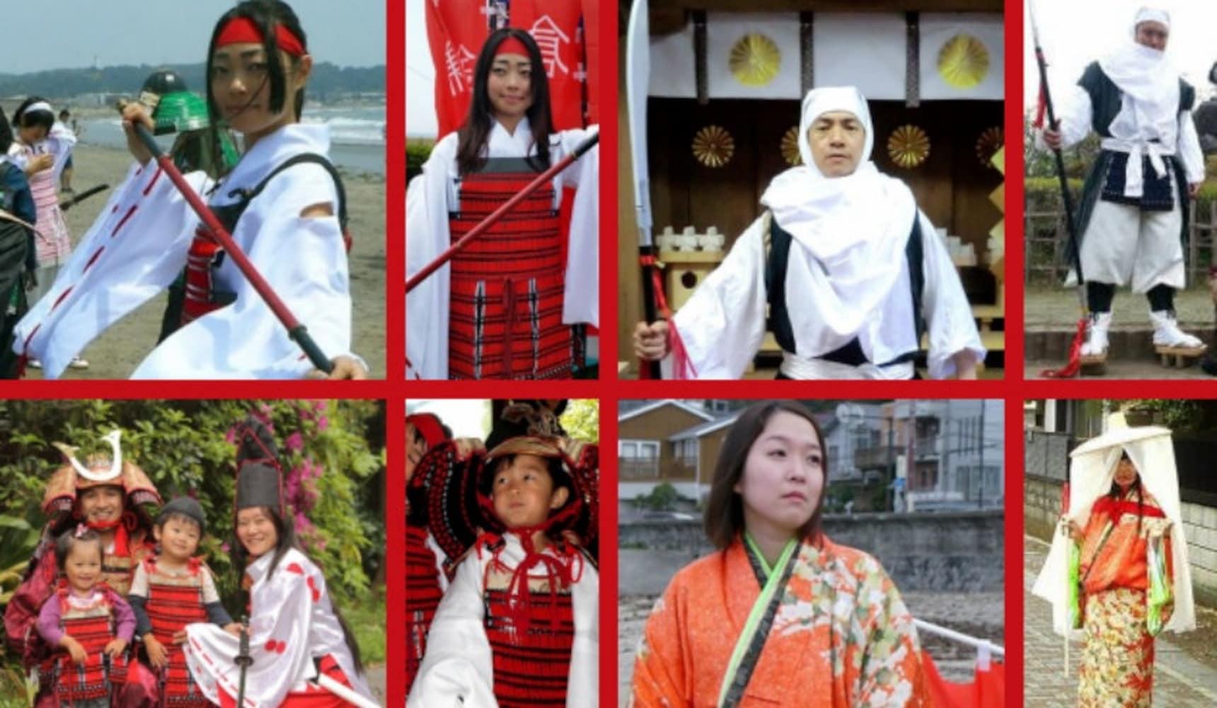 Cosplay as Samurai & Walk through Kamakura