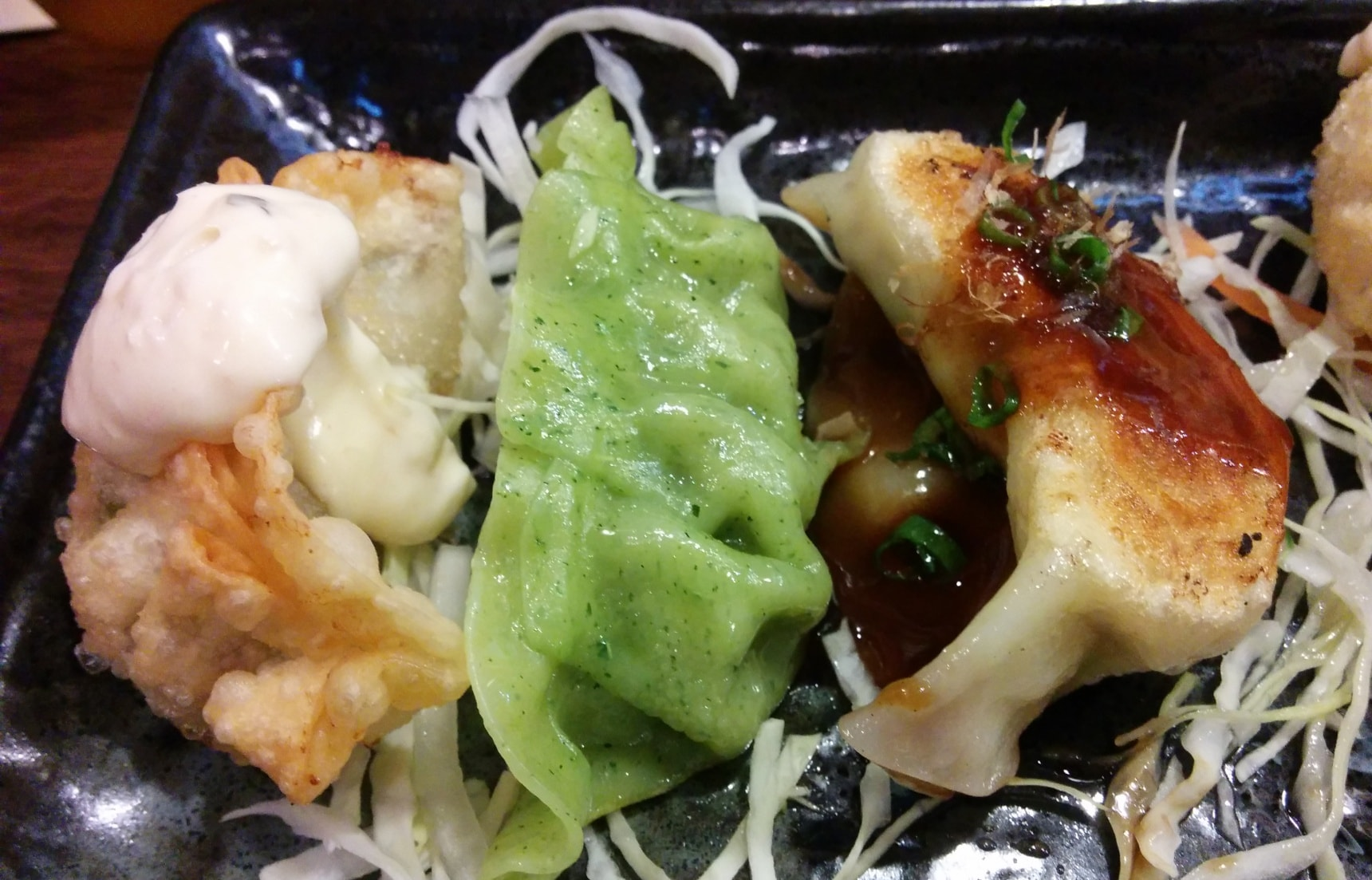 Aoba Gyoza: Healthy Green Dumplings