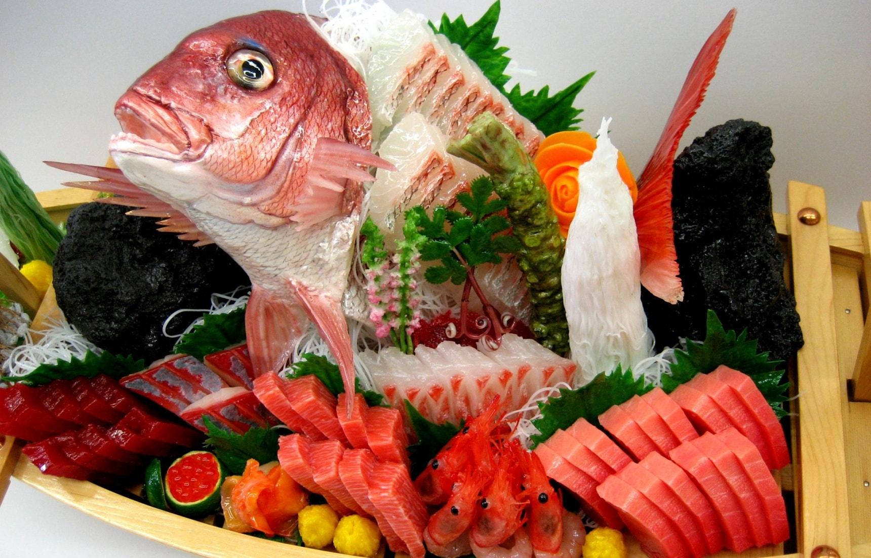 ซาชิมิก็เป็นอาหารสุขภาพนะ!