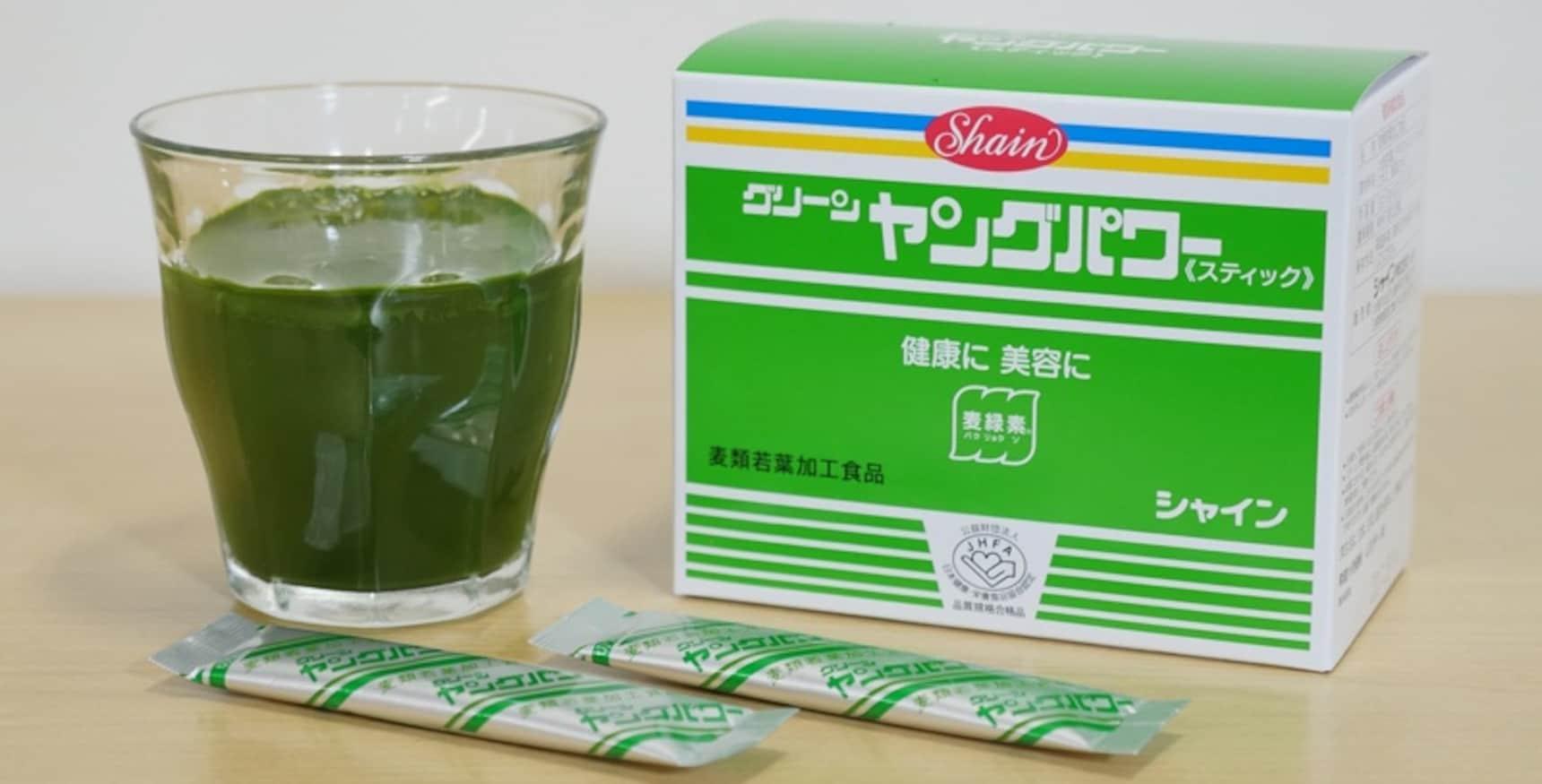 解析:日本国民健康食品大麦若叶青汁!