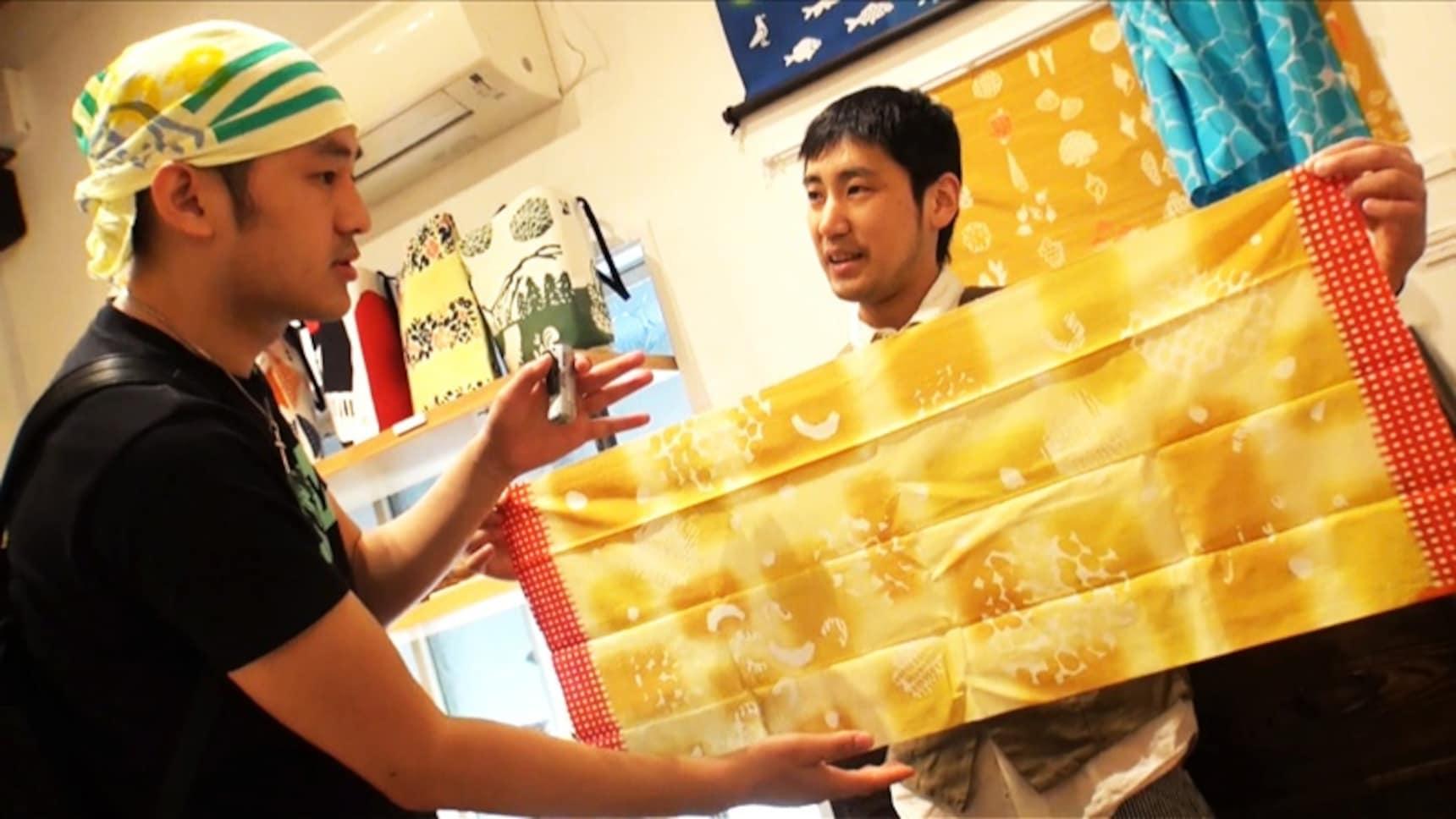 和風渲染的日本手巾:手ぬぐい
