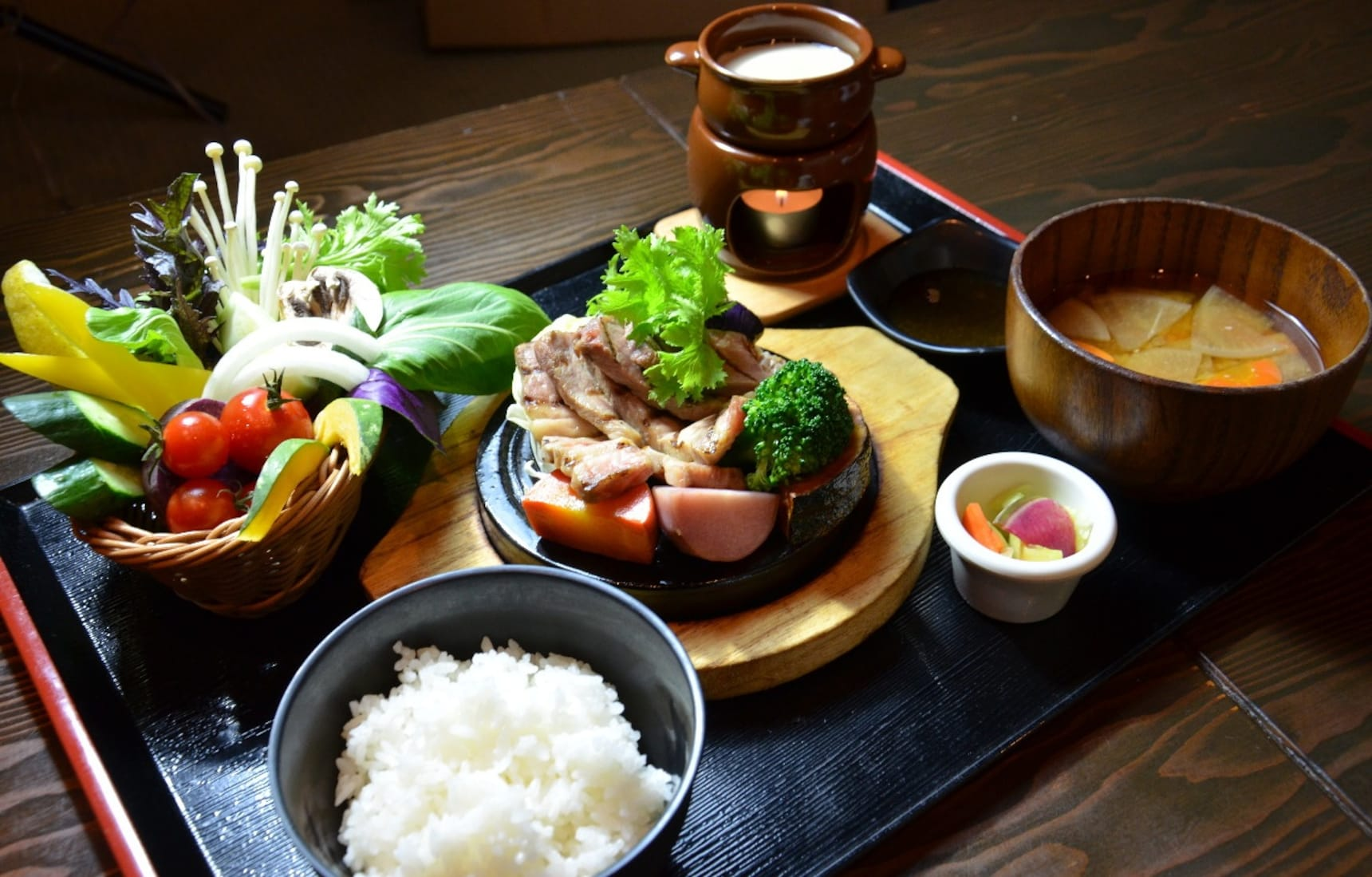 6 ร้านอาหารผักๆ ใน Tokyo
