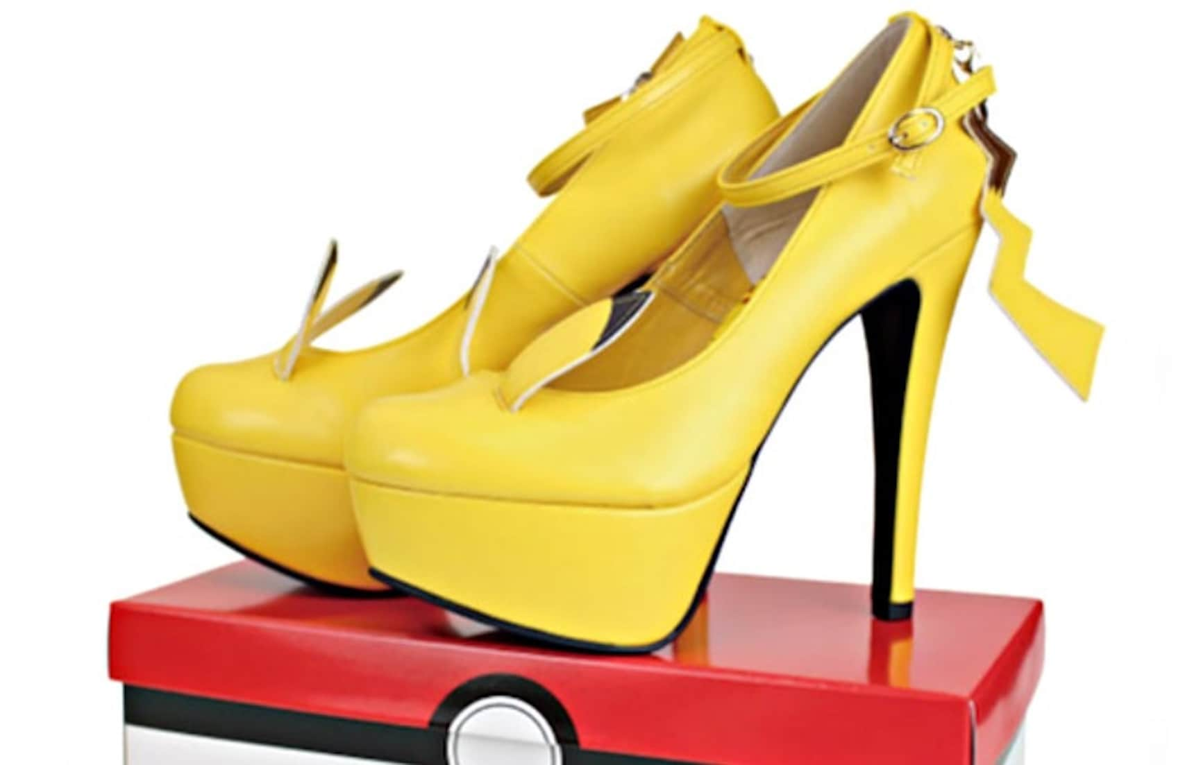 Shock Your Friends with Pikachu Pumps!