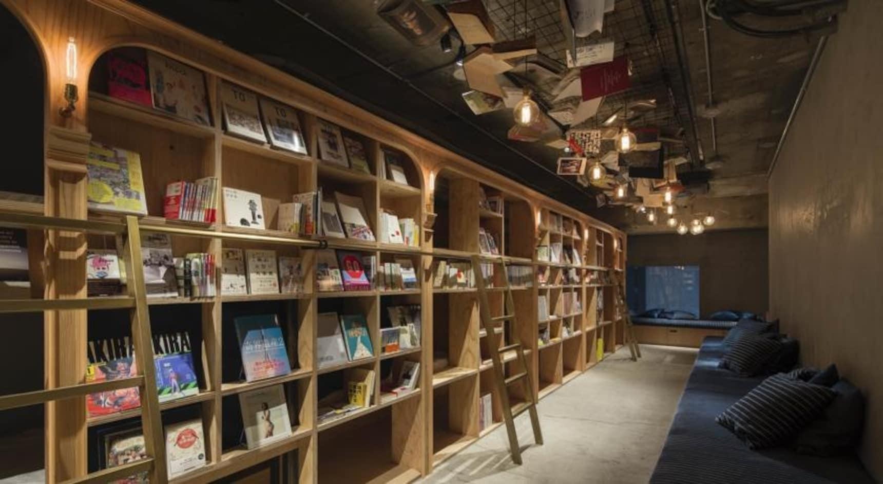 잠 잘 수 있는 서점, Book And Bed Tokyo