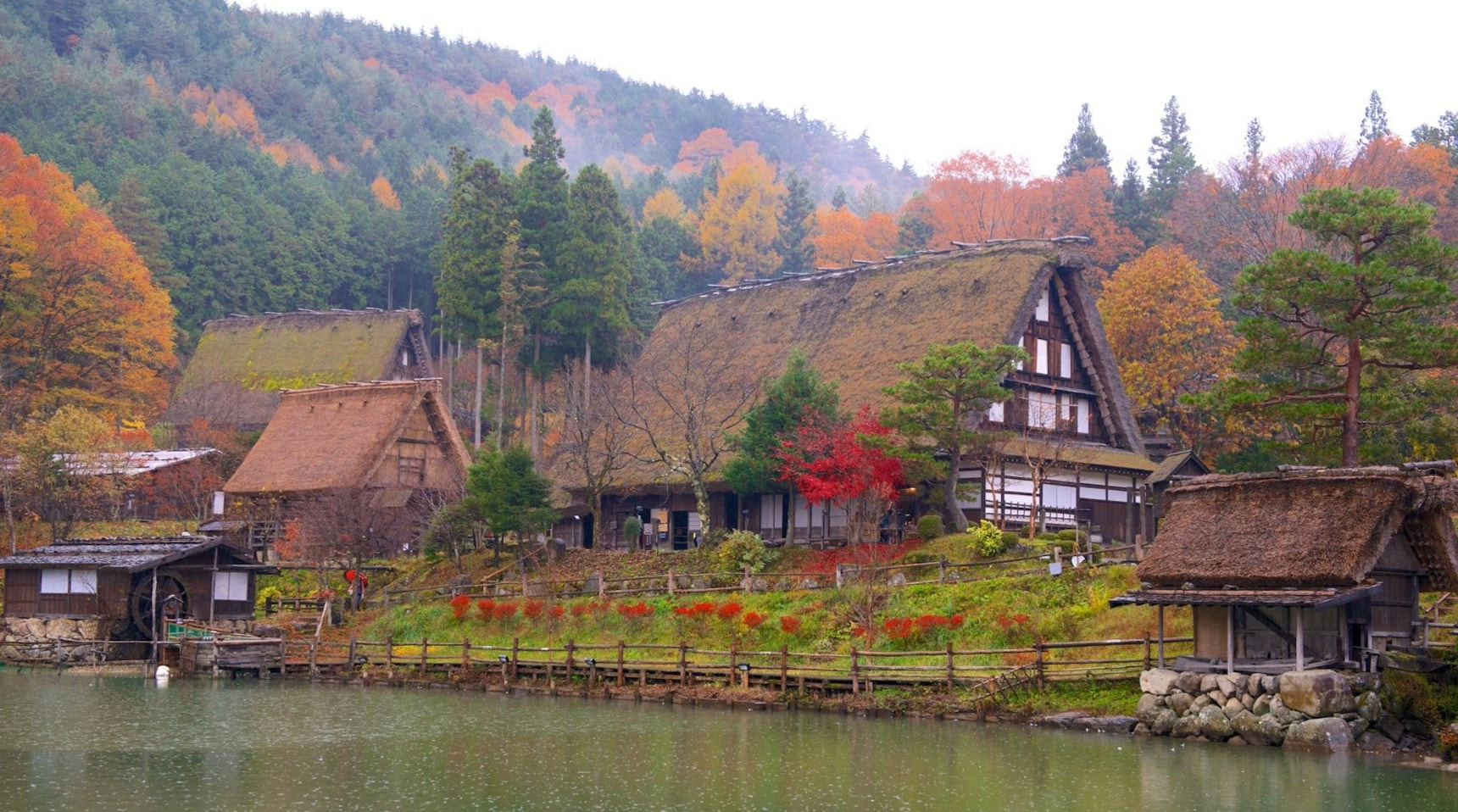 Top 4 Fall Foliage Spots around Takayama
