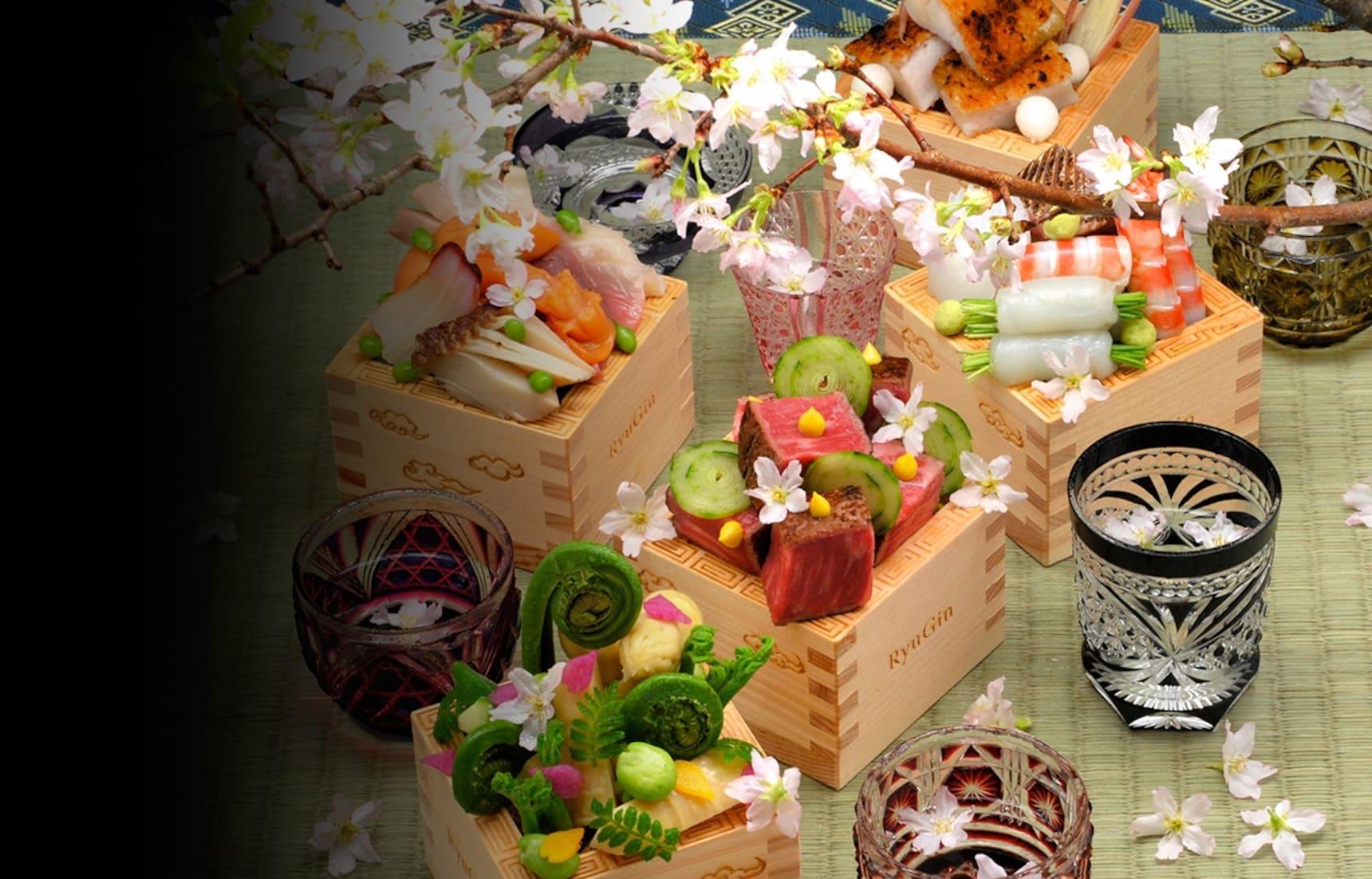 在健康餐桌上感受四季 — 日本料理最高峰「龙吟」