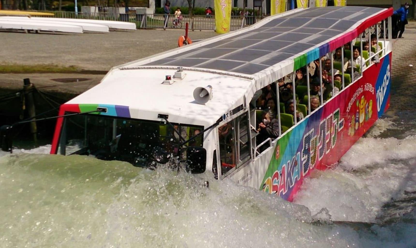 Go 'Deep' in Osaka on an Amphibious Bus Tour