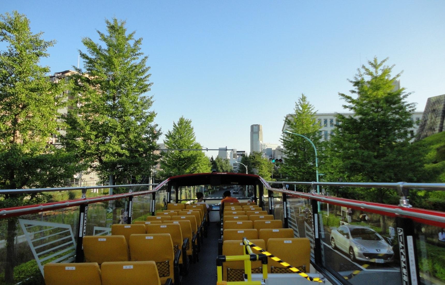 3 เส้นทางชมวิวโตเกียวจากข้างบนด้วย Sky Hop Bus