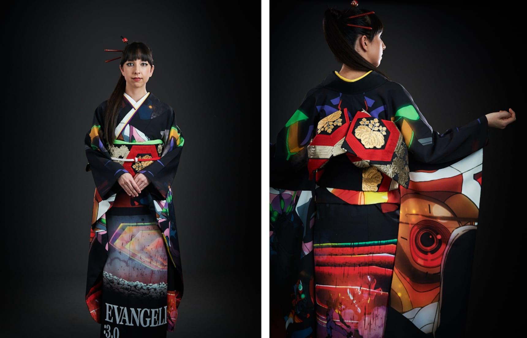 Pre-Order Your 'Evangelion' Kimono Today!
