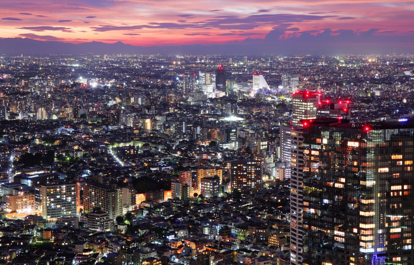 How to Get Great Views of Tokyo for Free