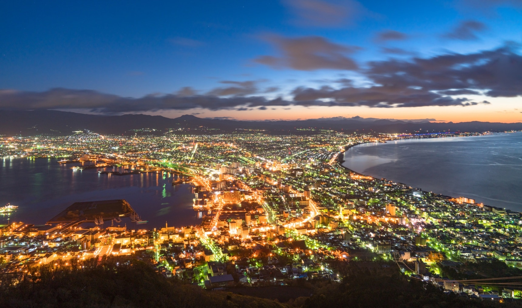 The 5 Most Beautiful Night Views in Hokkaido