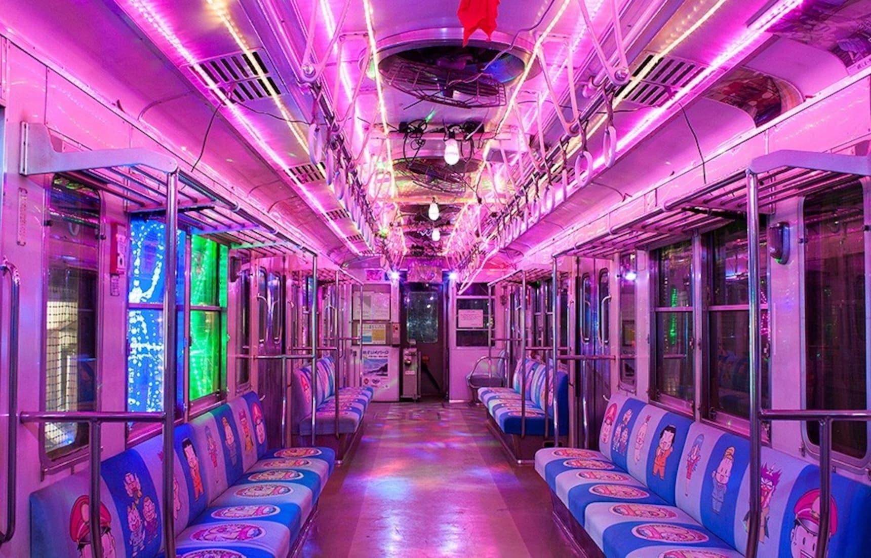 全日本最瘋狂的電車在千葉