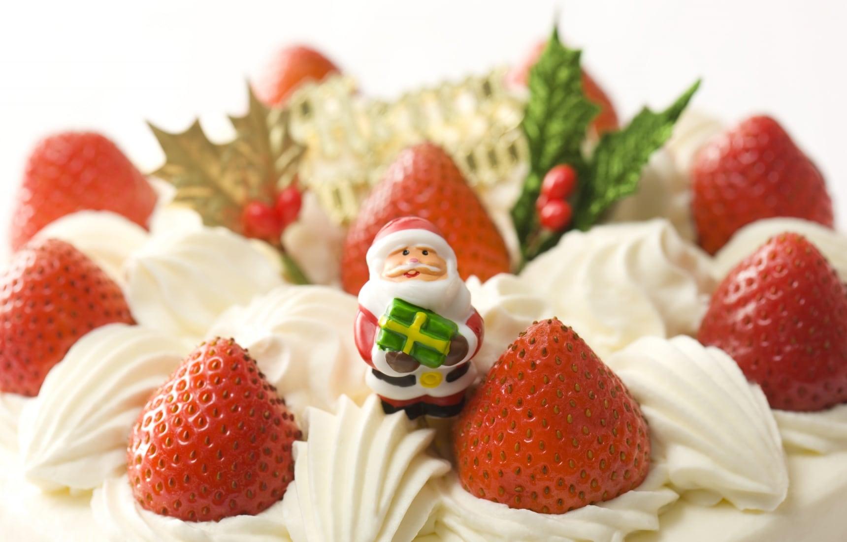 挑来选去还是它!日本圣诞蛋糕的经典款鲜奶草莓蛋糕