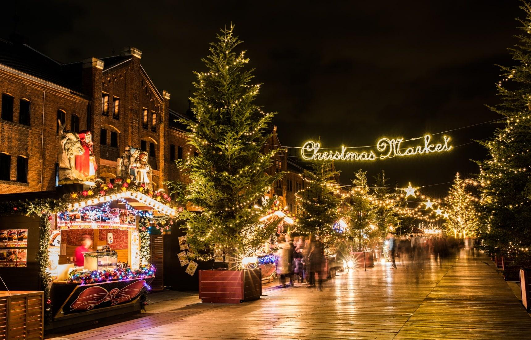 今晚聖誕市集見!