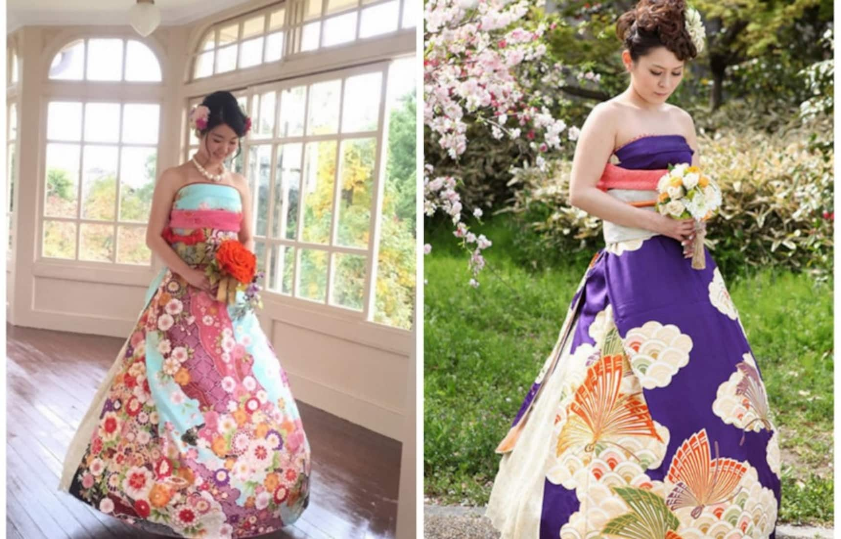 East Meets West in Wedding Dress Form