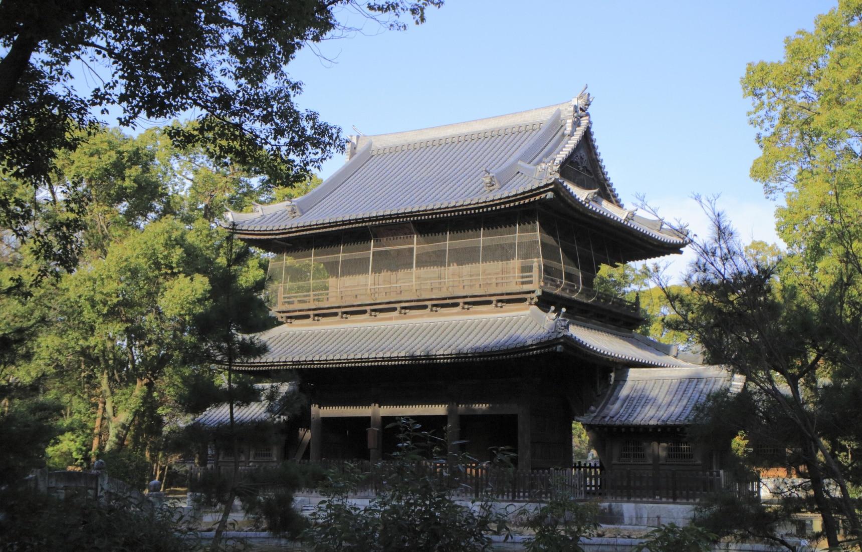 日本最早的禅宗寺院和日本茶的发祥地 圣福寺