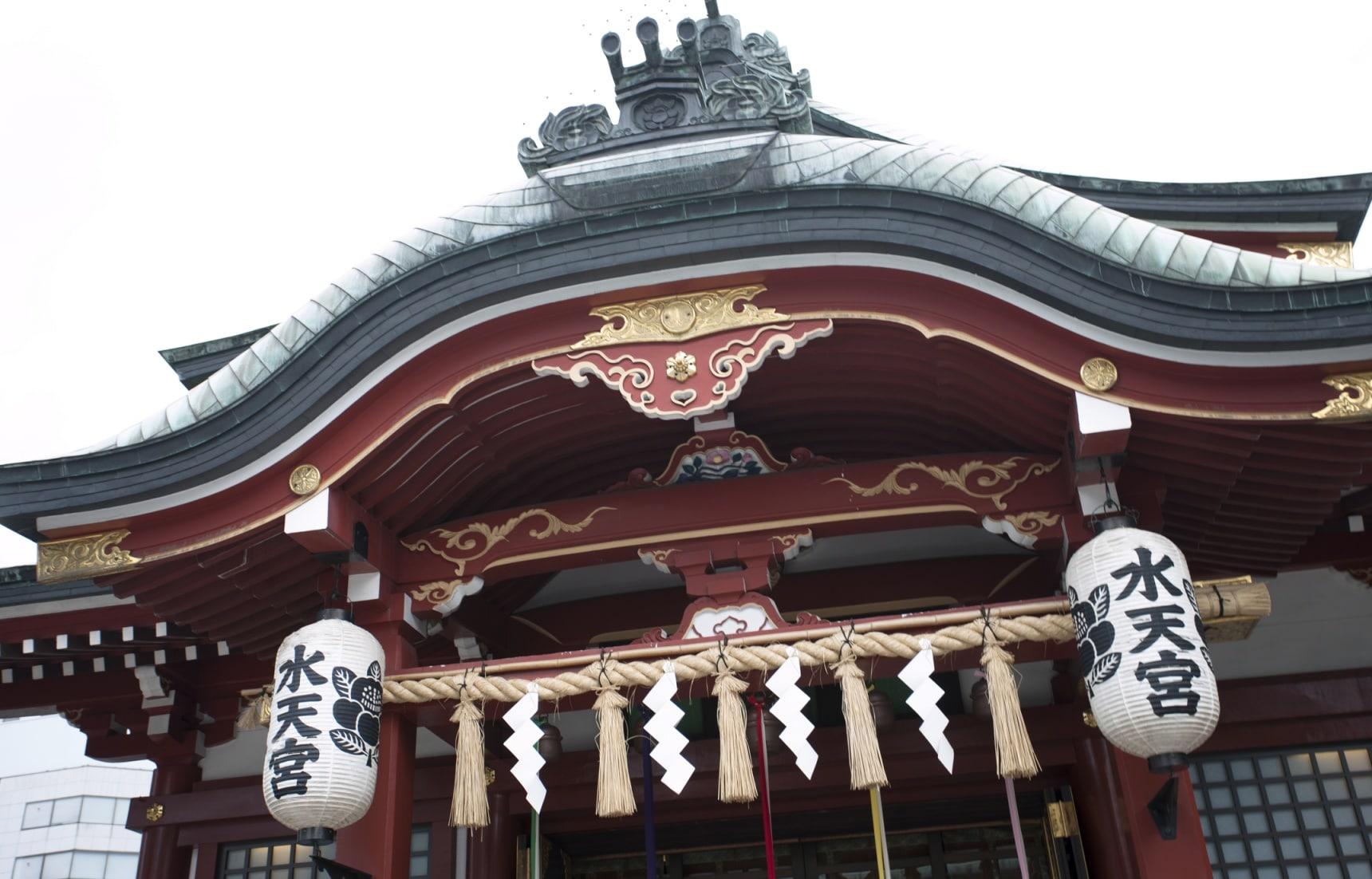 遍布日本各地的神社——水天宫