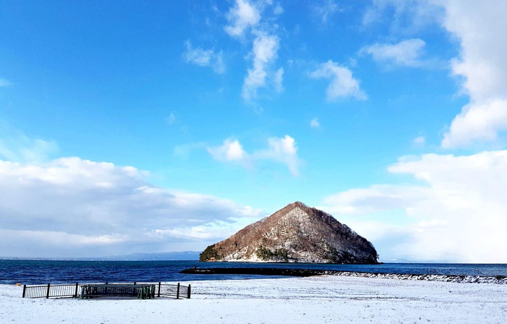 一个人去旅行,冬日东北&纯朴迷人的浅虫温泉小镇
