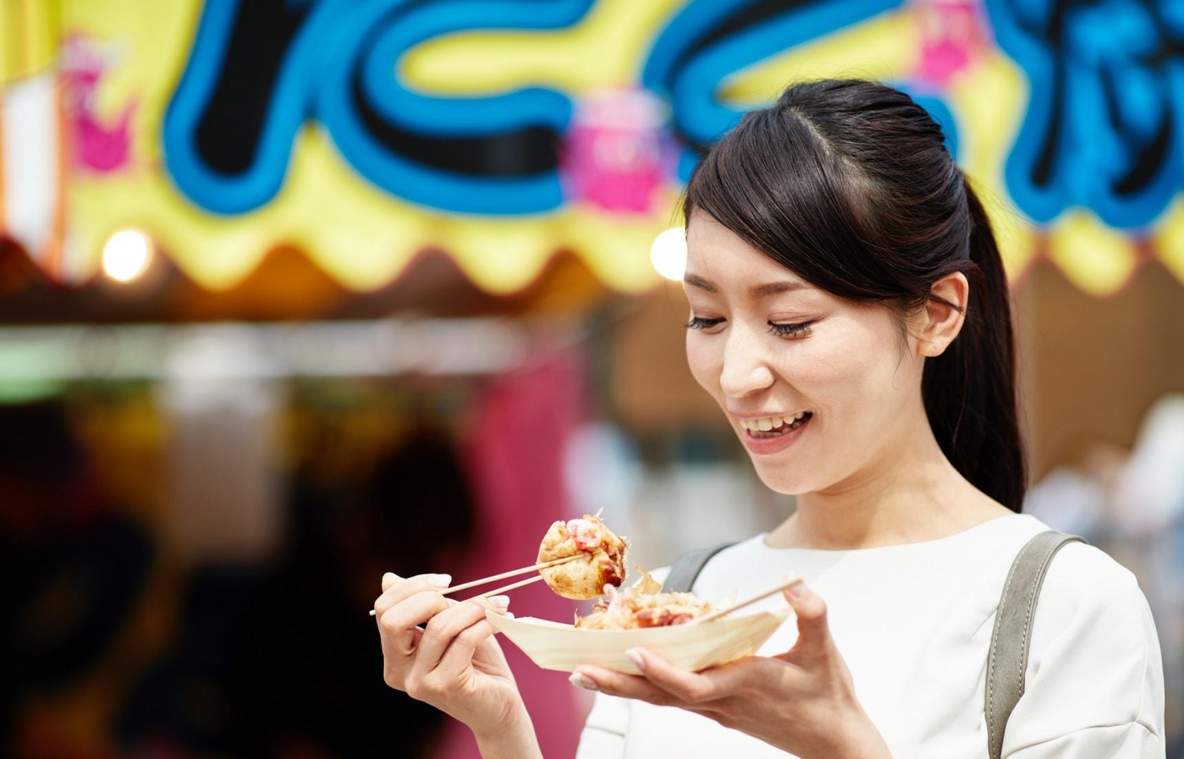일본의 맛있는 축제 간식 Top 10