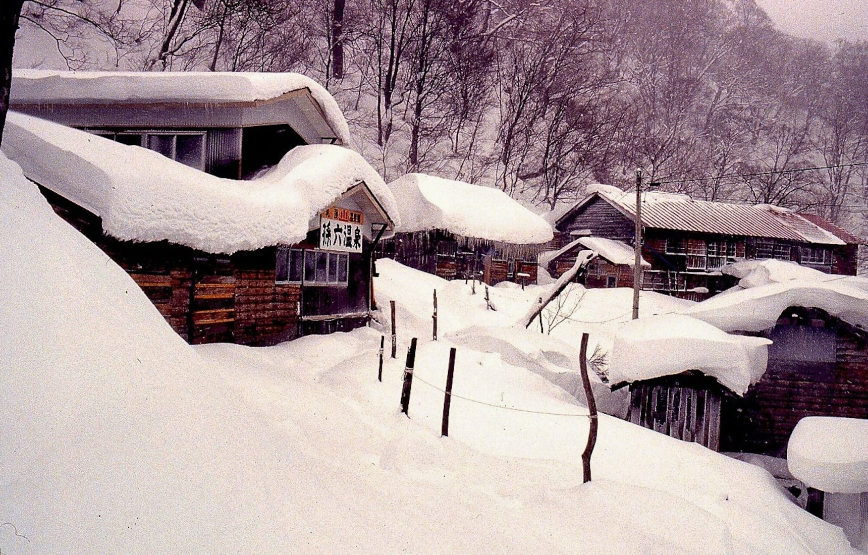 5 Incredible Snow-covered Onsen