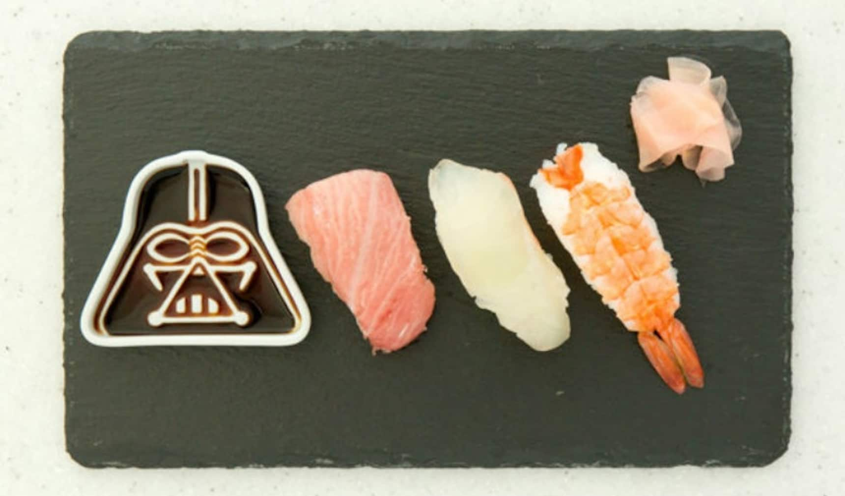 Dip Your Sushi in 'Star Wars' Soy Sauce Dishes