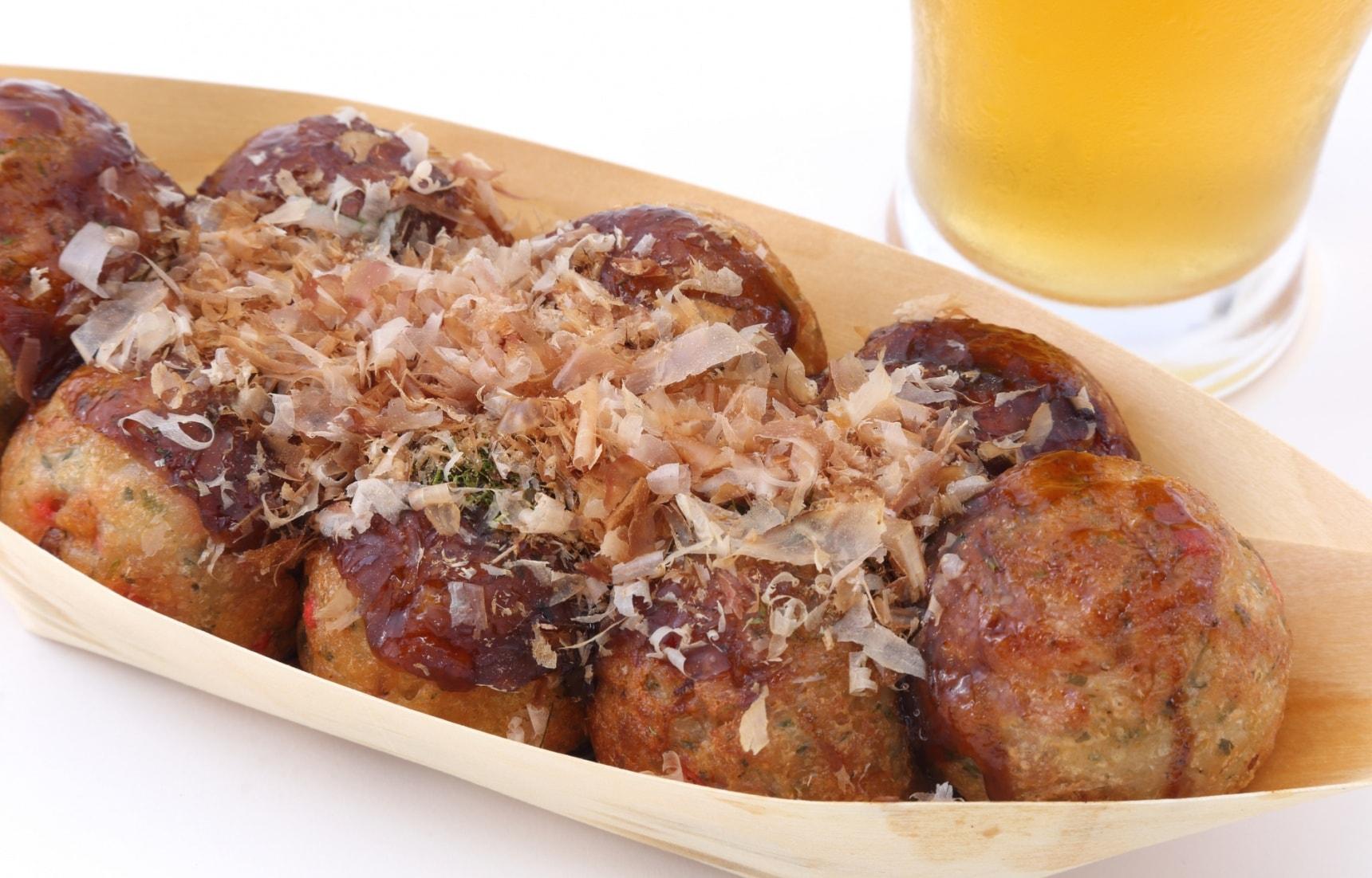 Top 20 Street Foods of Osaka