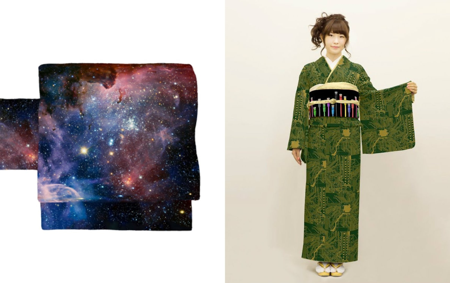 These Kimono Sashes Are Out of This World!