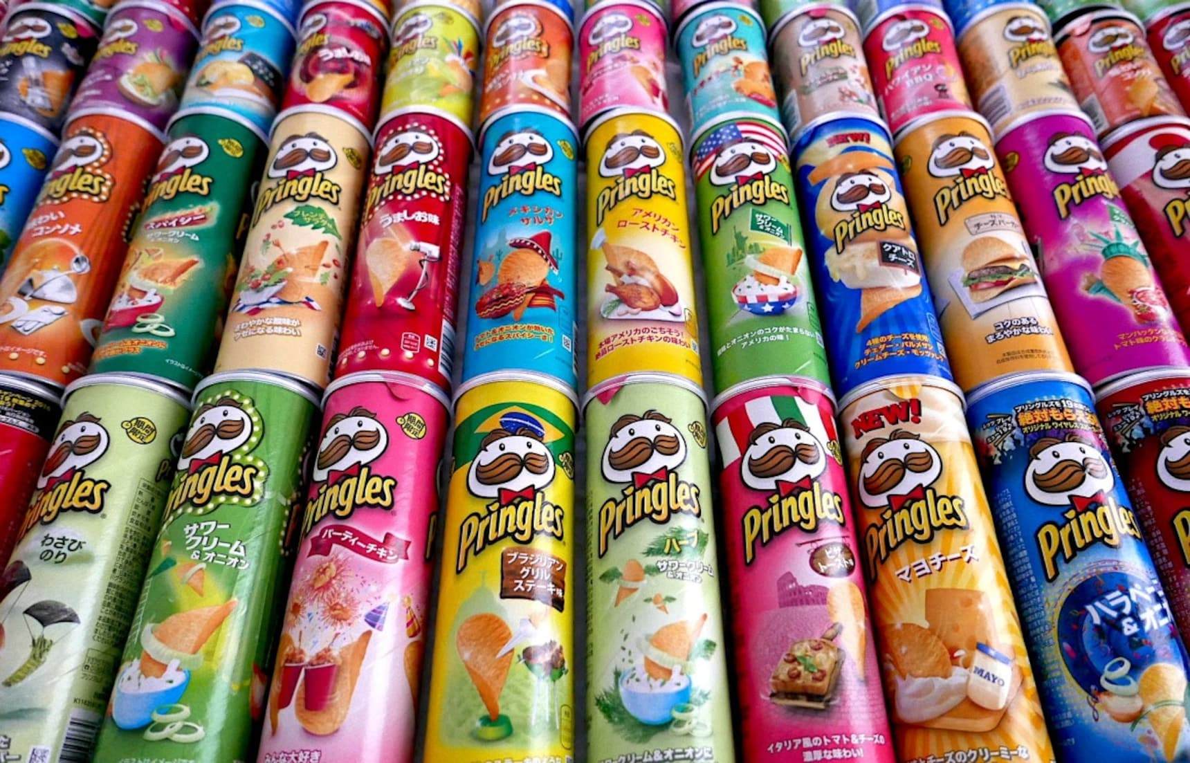 6 Off-the-Wall Pringles Flavors!