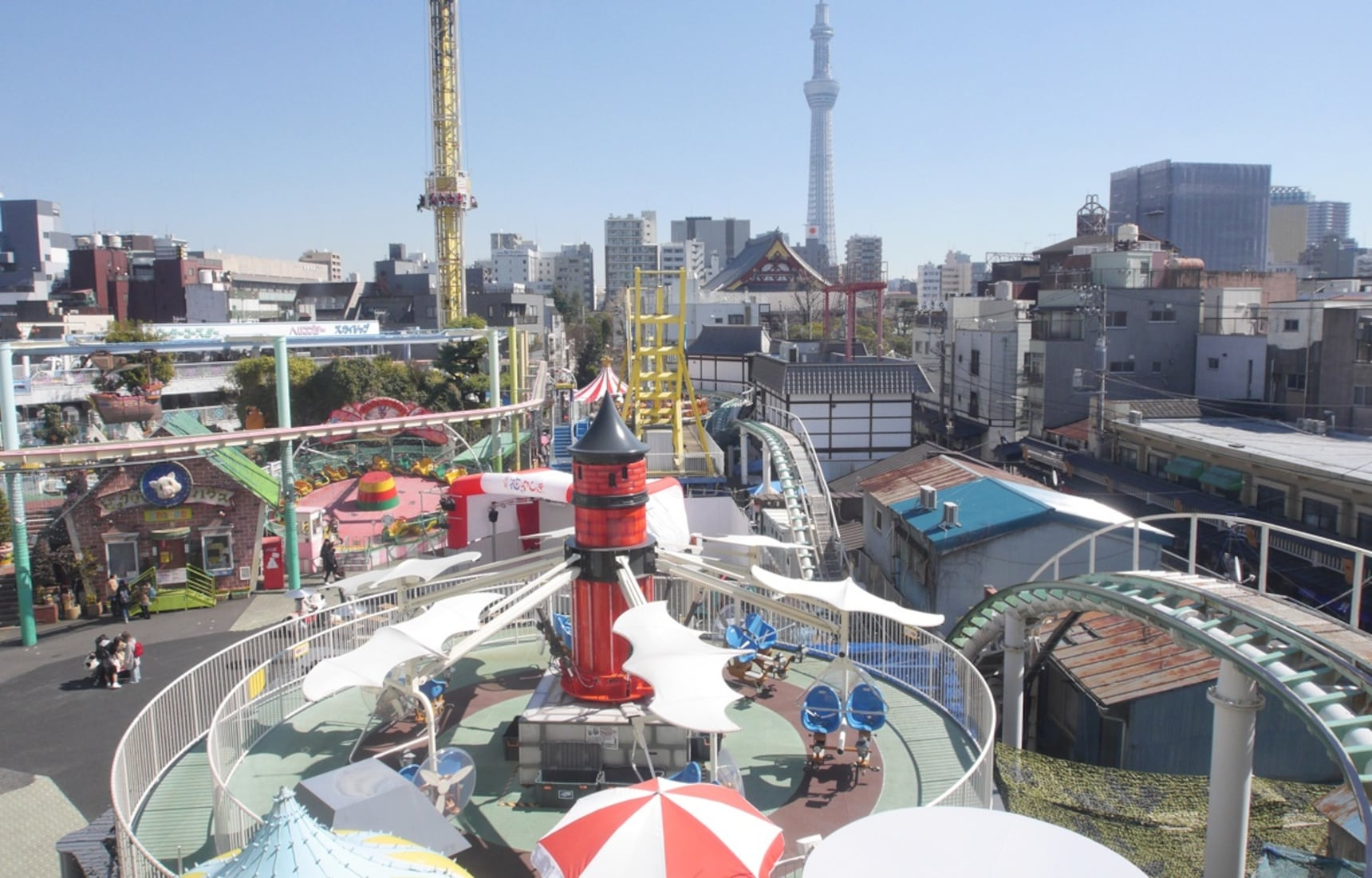Japan's Oldest Theme Park: Asakusa Hanayashiki