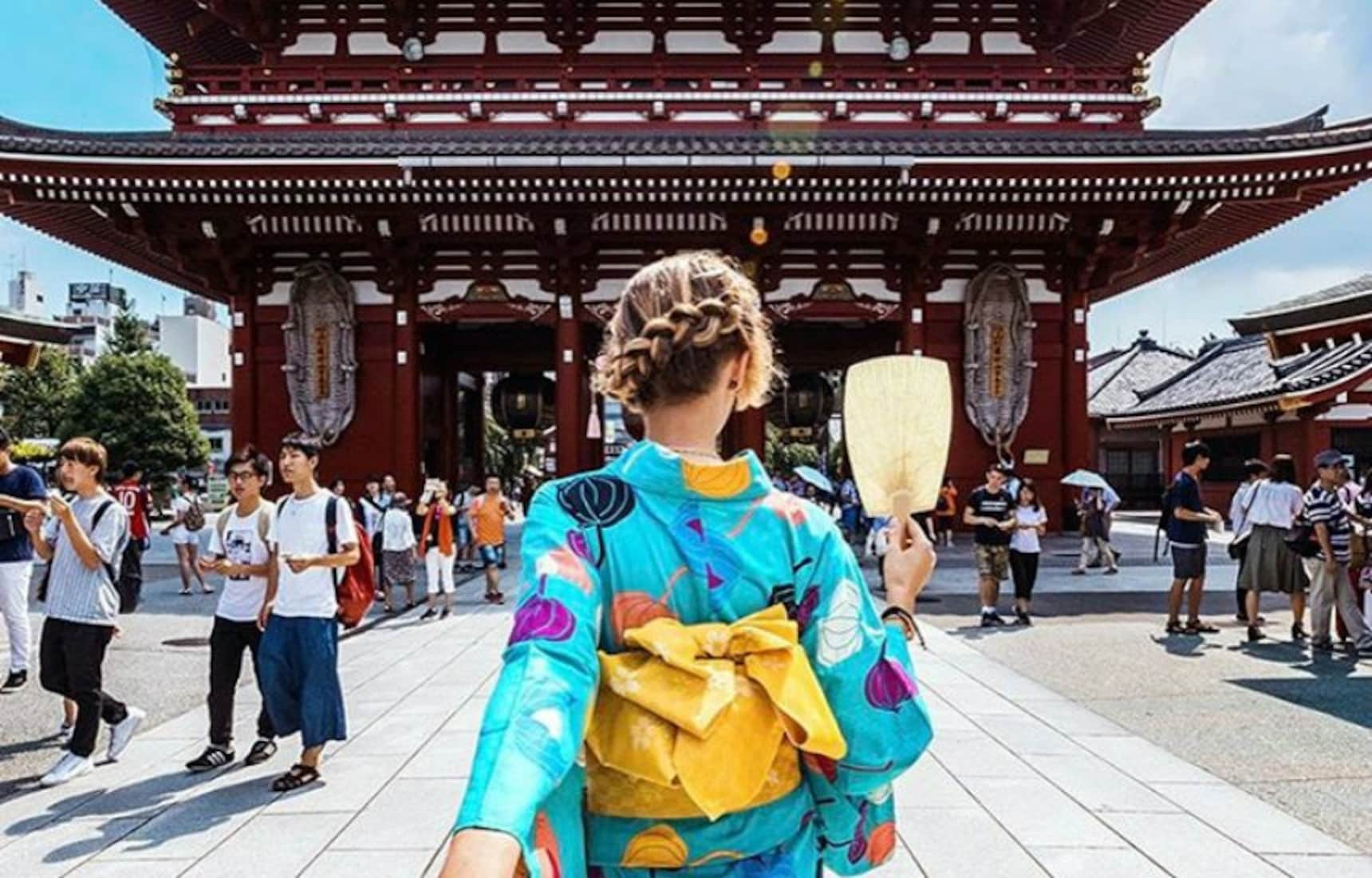 #Followmeto Couple Capture the Beauty of Japan