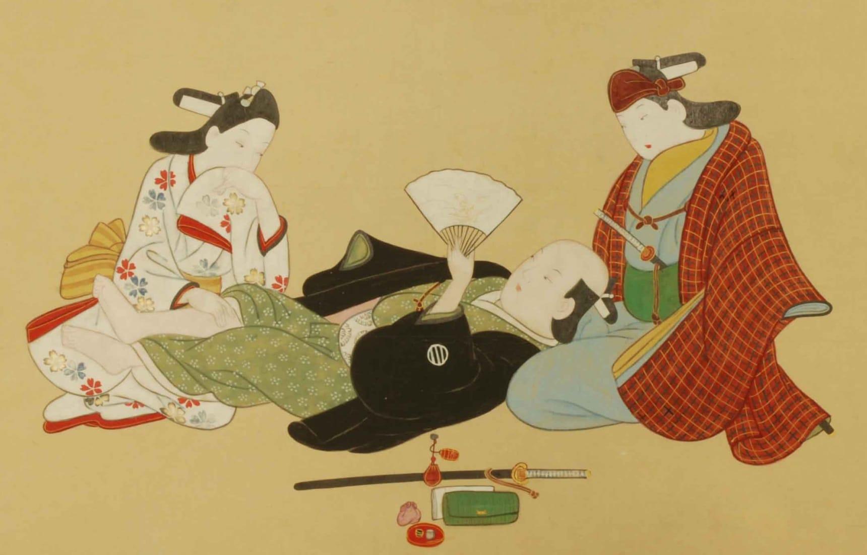 衆道 (ชูโด)พิธีแห่งการเป็นชายเหนือชาย