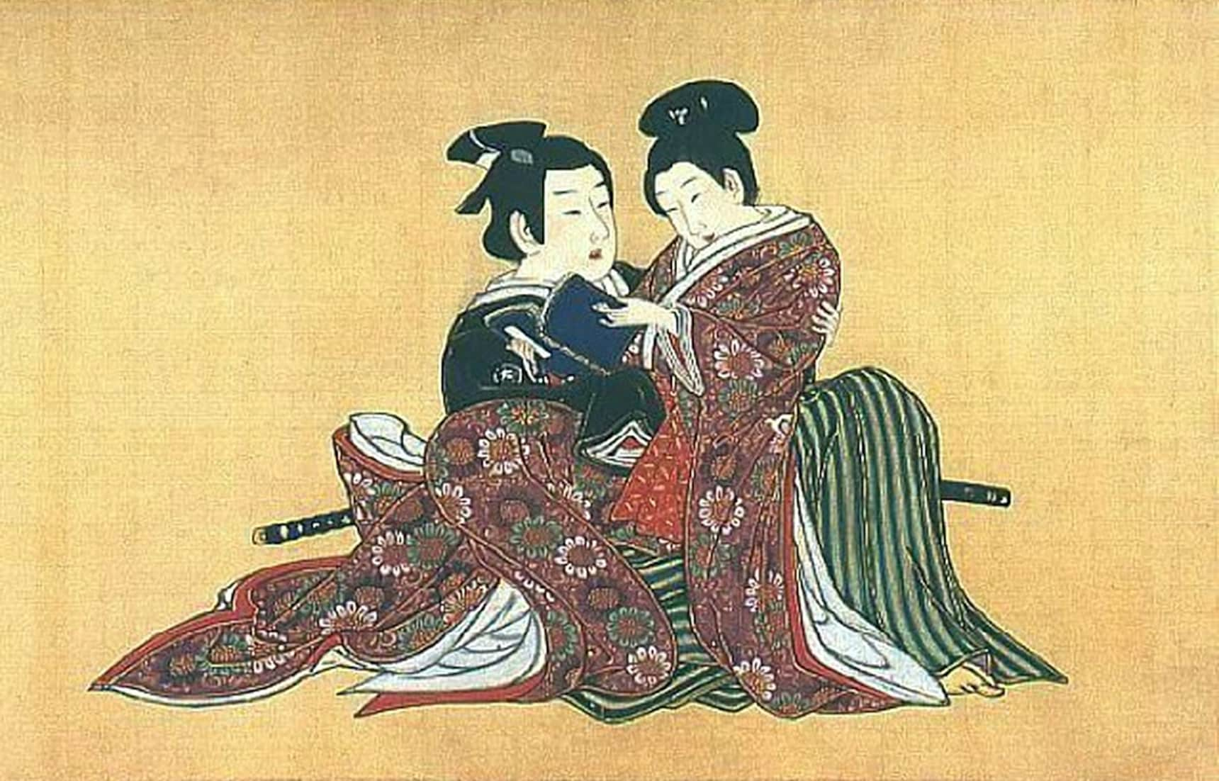 History of Same-Sex Samurai Love in Edo Japan