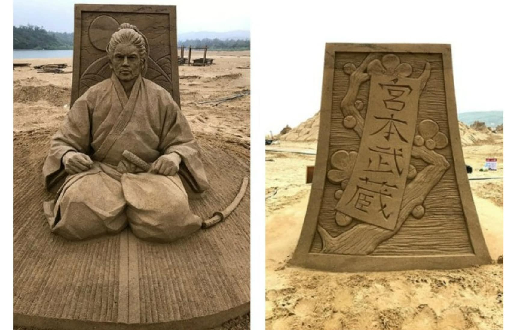 Toshihiko Hosaka's Incredible Sand Sculptures