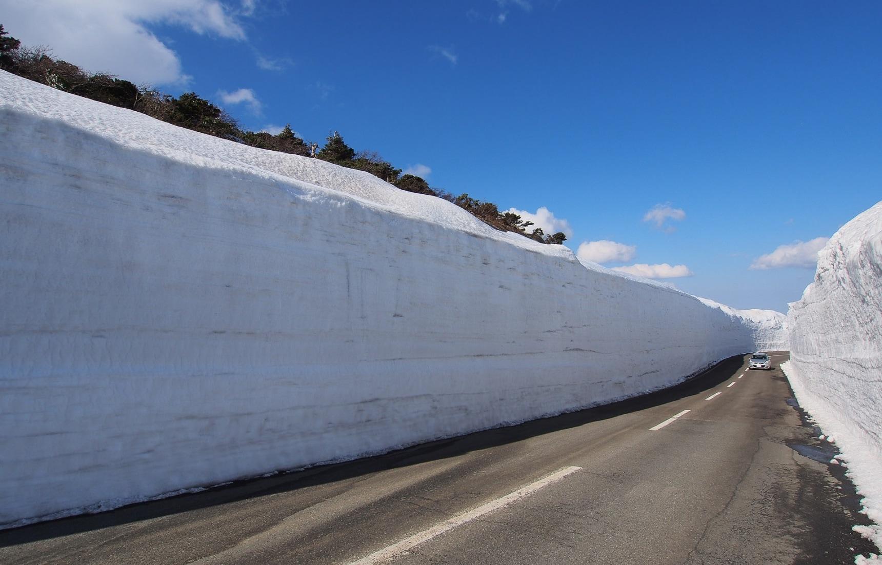ชมกำแพงหิมะที่ภูเขาซาโอะ Zao