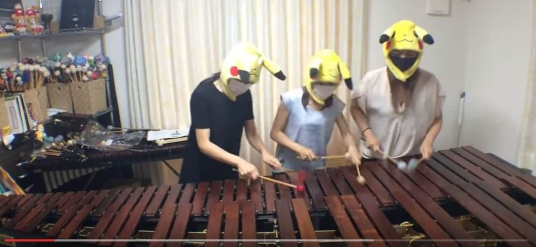 Three Xylophonists Take on Video Game Songs