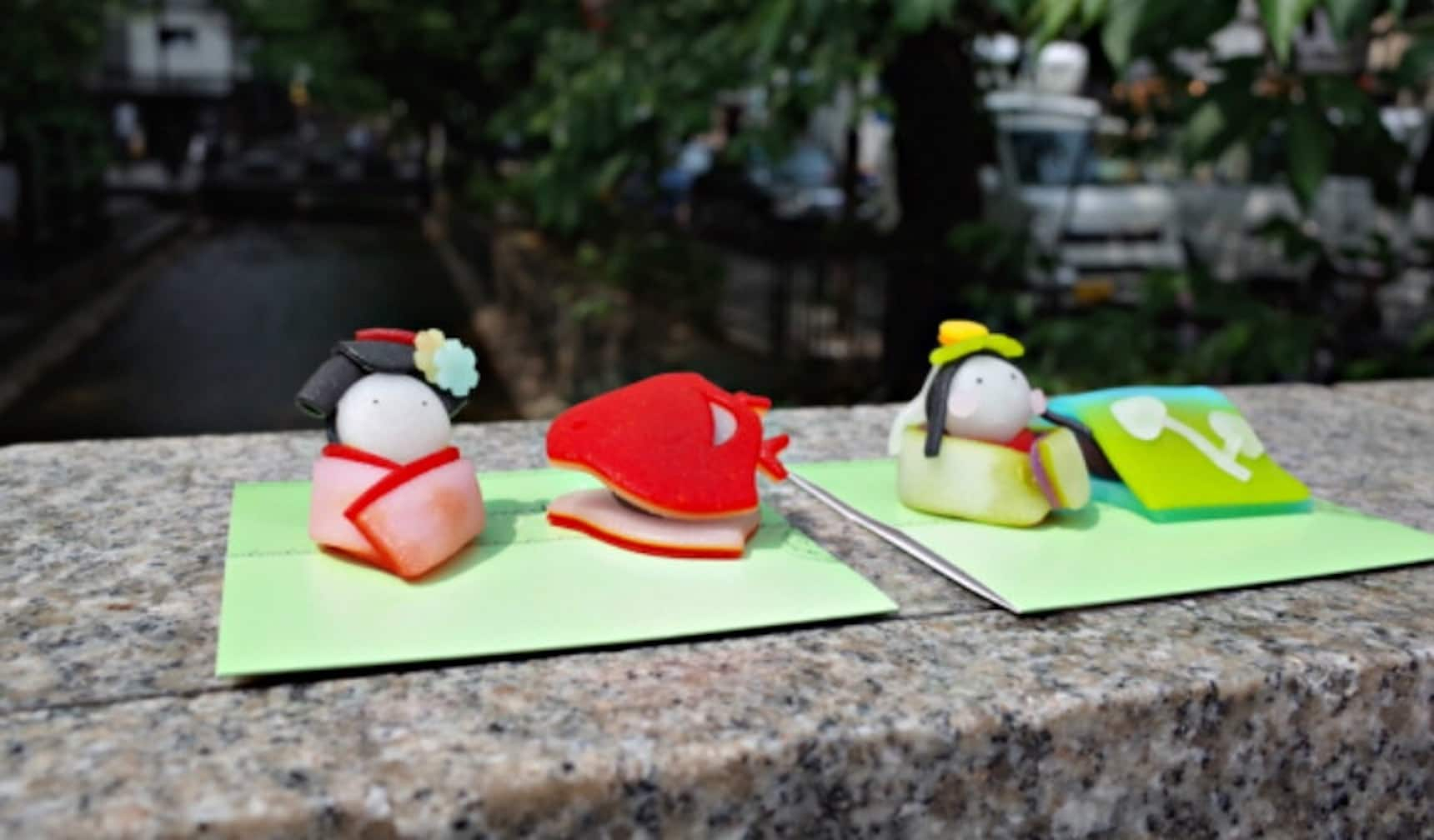 Snack on Geisha-Shaped Sweets in Kyoto